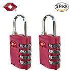 Tsa Approved Luggage Lock 4 Digit Combination TSA Padlock for Suitcase Travel Ba