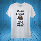 R.Lee Ermey actor Full Metal Jacket T-shirt Design unisex man women fitted