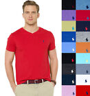 NEW Men Polo Ralph Lauren V-Neck T Shirt Size S M L XL XXL -