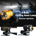 Bike Bicycle T6 LED Headlights USB Rechargeable Bike Bicycle Light Waterproof