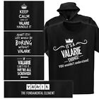 a small table - VALARIE T-shirt or Hoodie - Keep Calm, Periodic Table, It's a thing, Fix