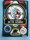 Pokemon card Sticker Seaking pocket monster BANDAI JAPAN F/S
