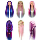 Внешний вид - 24'' Salon Human Practice Styling Hair Hairdressing Training Head Mannequin Doll