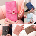 Unisex Womens solid Pouch ID Credit Card Wallet Holder Organizer Case Box Pocket