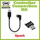 DJI Glimmer Custom OTG Cable - OTG 90° Controller Connection Kit - Drone Valley