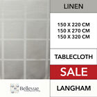 Langham Table Cloth Linen  NEW