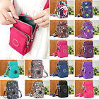 Cross-body Mobile Phone Shoulder Bag Pouch Case Belt Handbag Purse Wallet SUP