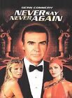 NEVER SAY NEVER AGAIN James Bond Sean Connery (DVD, 2000, Widescreen) *SEALED!* $38.63 CAD on eBay