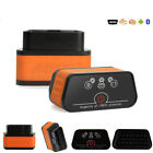 Bluetooth WIFI Car Diagnostic Interface Tool ELM327 Obd2 Scanner For Android iOS