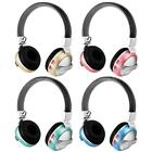 Wireless Foldable Bluetooth Stereo Earphone 3.5mm Headset AUX FM TF w/Mic S7C3