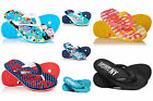 NewWomens Superdry Flip Flops Selection - Various Styles & Colours 2304