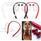 Bluetooth V4.2+EDR Wireless Stereo Headset Neckband Sports Earphones with Mic