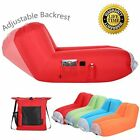 Air Bed Sofa Perfect for Indoor & Outdoor ADJUSTABLE BACKREST + Free case - Hot!