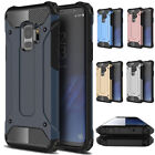 Shockproof Hybrid Rugged Armor Hard Case Cover For Samsung Galaxy S9 & S9 Plus