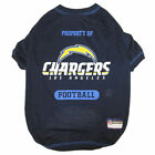 Los Angeles Chargers Dog T-Shirt $16.99 USD on eBay