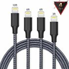iPhone charger,FAMMU lightning cable, 4Pack 3FT 6FT 6FT 10FT iphone cord for iPh