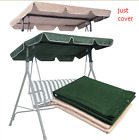 "Waterproof Swing Top Cover Canopy Sun Shlter Replacement 66x45"" 75x52"" 77x43"" US"