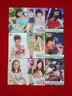 MIXED LOT OF 6 IDOLING OFFICIAL JAPAN TRADING CARDS BY BBM FUJI TELIVISION #1111