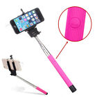 Extendable Monopod Self-pole Handheld Wired Selfie Stick For iPhone Samsung HTC