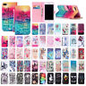 For iPhone 7/8 Plus Cute Leather Magnet Wallet Stand Case Flip Shockproof Cover