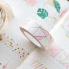 DIY Pink Foil Paper Washi Tape Kawaii Stationery Scrapbooking Decorative Tapes on eBay