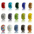 Wholesale 10pcs High Quality CZ Crystal Beads for European Charm Bracelets DIY