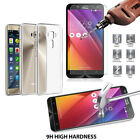 Crystal Clear Soft TPU Back Case Cover+Tempered Glass Protector For ASUS Zenfone
