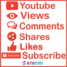 youtube vi�ws - lik�s - subscribe - comments - shares & HQ & Real and Safe