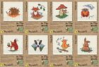 Mouseloft Mini Cross Stitch Kits  - In The Woods Collection