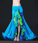 New High Quality Belly Dance Performance Skirt Lotus Leaf Fishtail Skirt 4 color