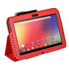 tab nexus 10 - for Google Nexus 10 Tablet Slim Leather Folding Folio Smart Skin Cover Case