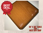 """NEW 36""""x36"""" Resin Restaurant Table top in Cherry (Eased Edge) with Quick Ship"""
