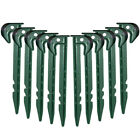 10 - 1000 Ground Cover Fixing Anchor Pegs Garden Weed Membrane Landscape Fleece