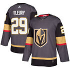Marc Andre Fleury Vegas Golden Knights adidas Authentic Player Jersey Gray