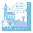 BLUE 1st FIRST HOLY COMMUNION CHURCH PARTY ACCESSORIES TABLEWARE DECORATIONS