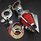 Cone Spike Air Cleaner fit 1991-2006 Harly Davidson XL models sportstar chrome