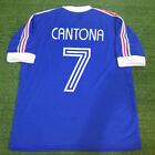 Classic Retro Football Shirts CANTONA #7 France Home World Cup 1978 Argentine