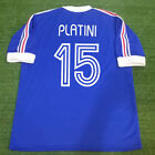 Classic Retro Football Shirts PLATINI #15 France Home World Cup 1978 Argentine