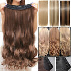 2018 CLEARANCE Clip in 100% Natural AS Human Hair Extensions Full Head Thick FR4