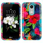 For LG Fortune 2 IMPACT TUFF HYBRID Protector Case Skin Phone Cover