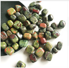 Raw Rock Stone Mineral Natural Specimen Crystal Rough Green Flower Healing Gem