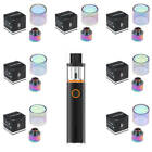 SMOK TFV12 baby Prince Extended Replacement Bulb Glass+Rainbow Drip Tip