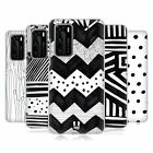 HEAD CASE DESIGNS BLACK AND WHITE DOODLE PATTERNS BACK CASE FOR HUAWEI PHONES 1