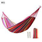 Nylon Fabric Portable Parachute Swing Hanging Hammock Outdoor Camping Travel