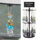 Ganz E8 Rear View Mirror Beaded Car Charm 3in - Choose Design image