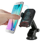 Wireless Car Charger Mount Air Vent Holder For Samsung S9 For iPhone X XS Max 8