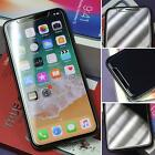 iPhone X Tempered Glass HD Screen Cover Protector Saver Case Friendly Apple 2 Pc