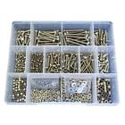 G304 Stainless M3 M4 Metric Hex Bolt Nut Washer Assortment Kit Screw #30