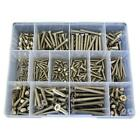 G316 Stainless M3 M4 M5 M6 Countersunk Phillips Machine Screw Assortment Kit #45