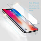 2X Screen Protector Tempered Glass For iPhone 6s 6 7 8 Plus 5s 5c 5 4s 4 SE X